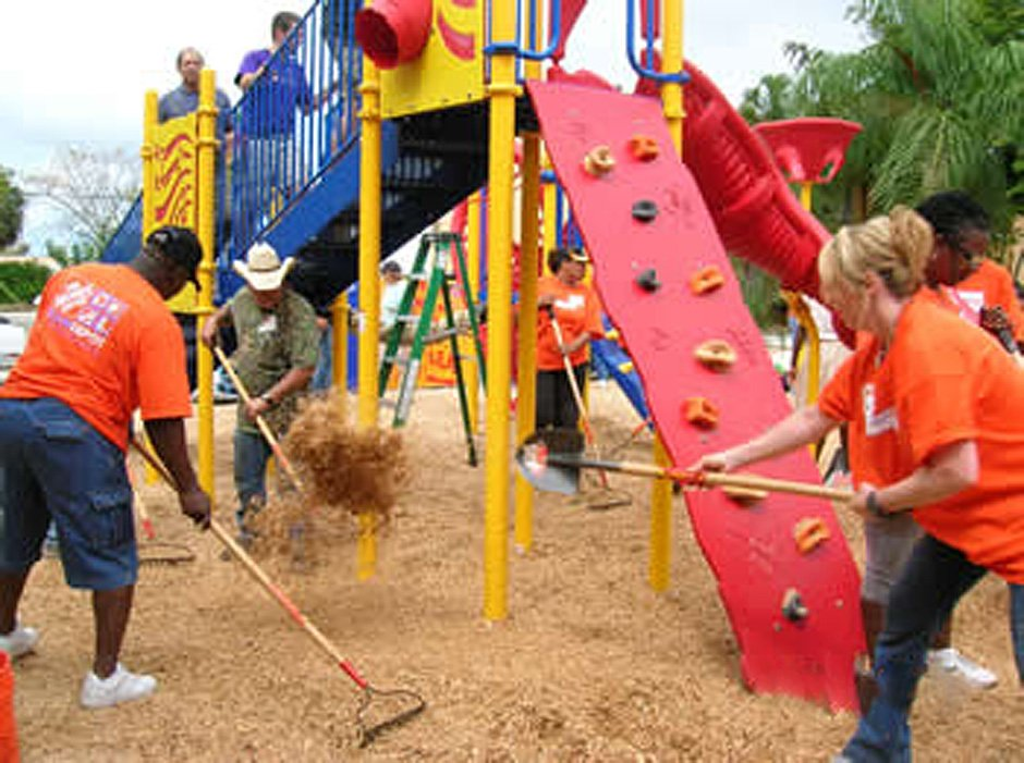 The Home Depot Kaboom And West Palm Beach Housing Authority Join